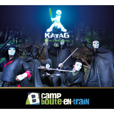 Katag au camp Boute-en-Train 14 ANS + (440$) Édition 2019