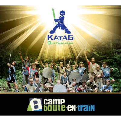 Katag au camp Boute-en-Train 7 À 13 ANS (550$) Édition 2019