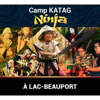 Camp Katag Ninja à Lac-Beauport (230$ tout compris)