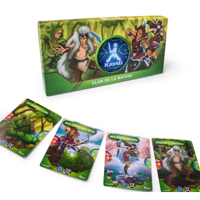 Jeu de cartes Katag - Le clan de la nature
